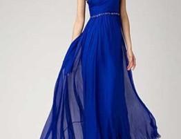 Vestido Azul Royal Gala